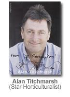 Alan Titchmarsh - Star Horticulturalist