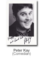 Peter Kay - Comedian