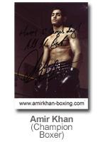 Amir Khan - Champion Boxer