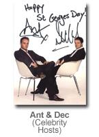 Ant & Dec - Celebrity Hosts