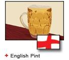 English Pint bunting